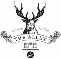 IT'S TIME FOR TEA, THE ALLEY, DA.