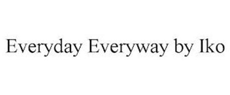 EVERYDAY EVERYWAY BY IKO