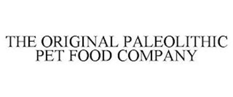 THE ORIGINAL PALEOLITHIC PET FOOD COMPANY