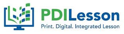 PDILESSON PRINT. DIGITAL. INTEGRATED LESSON