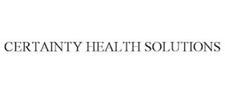 CERTAINTY HEALTH SOLUTIONS
