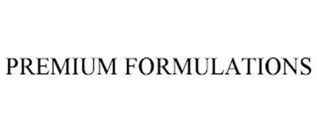 PREMIUM FORMULATIONS