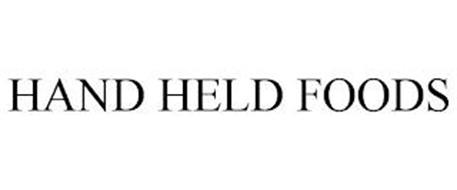 HAND-HELD FOODS