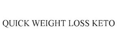 QUICK WEIGHT LOSS KETO