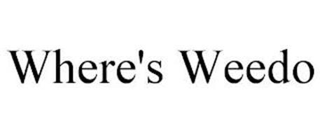 WHERE'S WEEDO