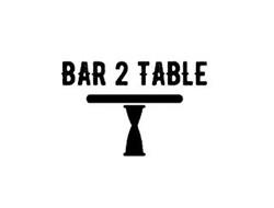 BAR 2 TABLE
