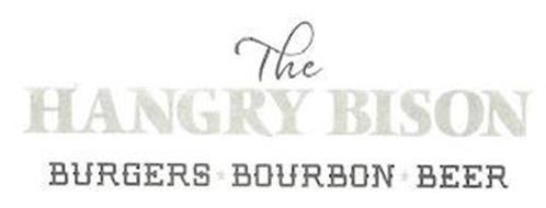 THE HANGRY BISON BURGERS BOURBON BEER