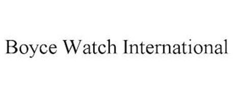 BOYCE WATCH INTERNATIONAL