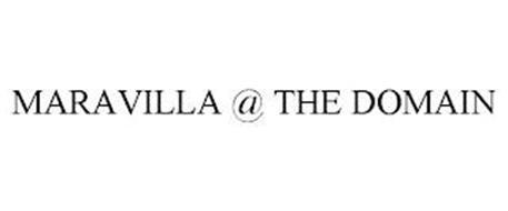 MARAVILLA @ THE DOMAIN