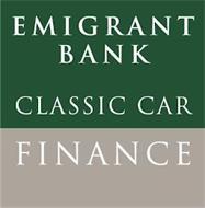 EMIGRANT BANK CLASSIC CAR FINANCE