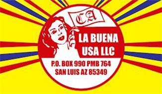 LA BUENA USA LLC P.O. BOX 990 PMB 764 SAN LUIS AZ 85349