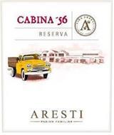 CABINA '56 RESERVA VIÑA ARESTI PASION FAMILIAR