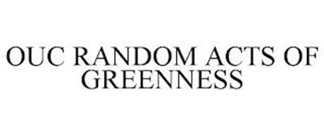 OUC RANDOM ACTS OF GREENNESS