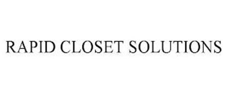 RAPID CLOSET SOLUTIONS