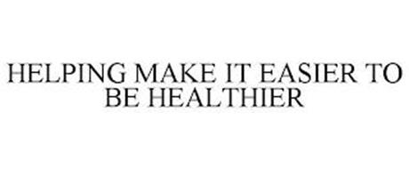 HELPING MAKE IT EASIER TO BE HEALTHIER