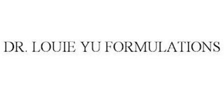 DR. LOUIE YU FORMULATIONS
