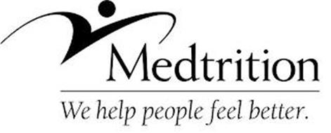 M MEDTRITION WE HELP PEOPLE FEEL BETTER.