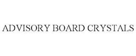 ADVISORY BOARD CRYSTALS