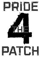 PRIDE 4 THE PATCH