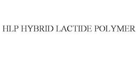 HLP HYBRID LACTIDE POLYMER