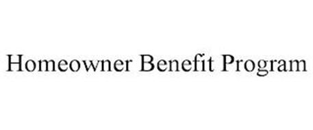 HOMEOWNER BENEFIT PROGRAM