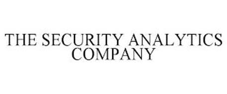 THE SECURITY ANALYTICS COMPANY