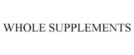 WHOLE SUPPLEMENTS