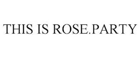 THIS IS ROSE.PARTY