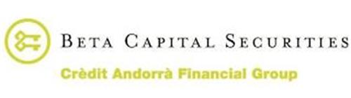 BETA CAPITAL SECURITIES CRÈDIT ANDORRÀ FINANCIAL GROUP