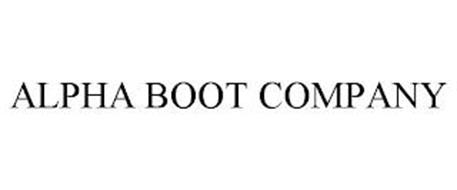 ALPHA BOOT COMPANY