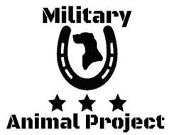 MILITARY ANIMAL PROJECT