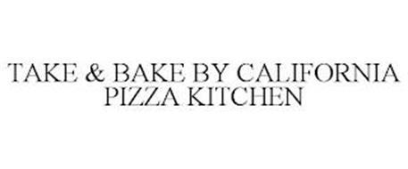 TAKE & BAKE BY CALIFORNIA PIZZA KITCHEN