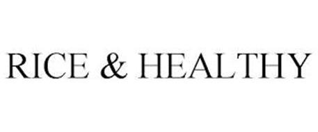 RICE & HEALTHY