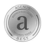 A AGENUS B.E.S.T. BIOTECH ELECTRONIC SECURITY TOKEN