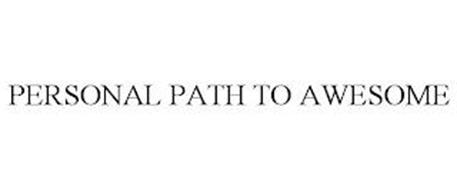 PERSONAL PATH TO AWESOME