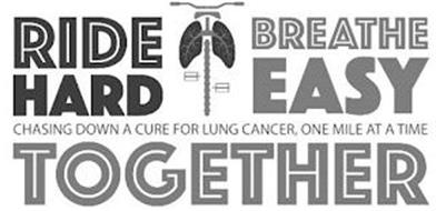 RIDE HARD BREATHE EASY CHASING DOWN A CURE FOR LUNG CANCER, ONE MILE AT A TIME TOGETHER