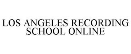 LOS ANGELES RECORDING SCHOOL ONLINE