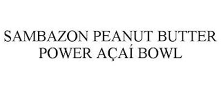 SAMBAZON PEANUT BUTTER POWER AÇAÍ BOWL