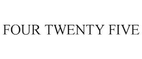 FOUR TWENTY FIVE