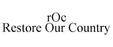 ROC RESTORE OUR COUNTRY