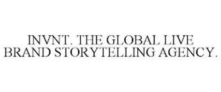 INVNT. THE GLOBAL LIVE BRAND STORYTELLING AGENCY.