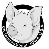 CK INTERNATIONAL IOWA U.S.A.