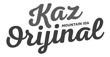 KAZ MOUNTAIN IDA ORIJINAL