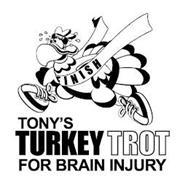 TONY'S TURKEY TROT FOR BRAIN INJURY TONY FINISH