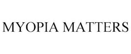 MYOPIA MATTERS