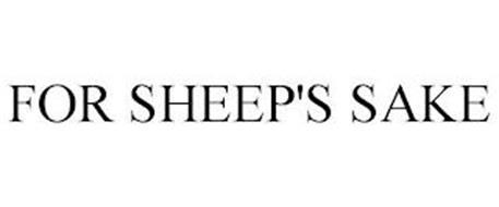 FOR SHEEP'S SAKE