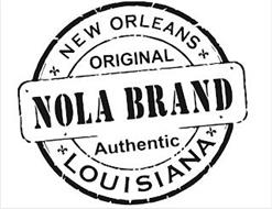 NOLA BRAND NEW ORLEANS ORIGINAL AUTHENTIC LOUISIANA