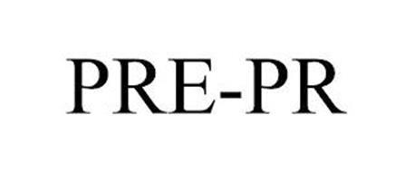 PRE-PR