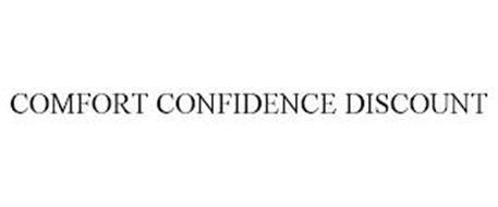COMFORT CONFIDENCE DISCOUNT