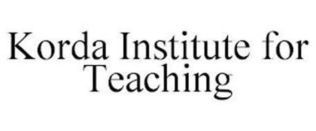 KORDA INSTITUTE FOR TEACHING